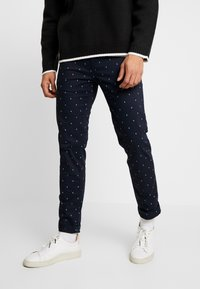 Scotch & Soda - MOTT CLASSIC - Chinos - dark blue - 0