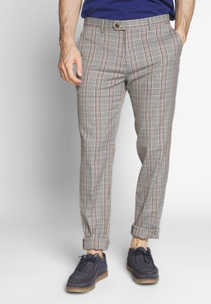 MOTT CLASSIC IN YARN-DYED PATTERN - Chinos - combo f