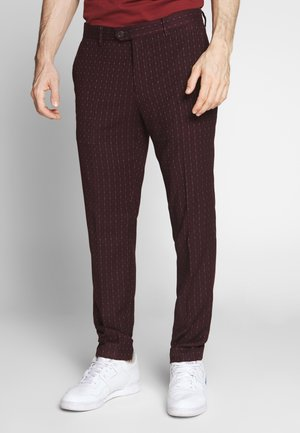 MOTT CLASSIC IN YARN-DYED PATTERN - Chinos - combo