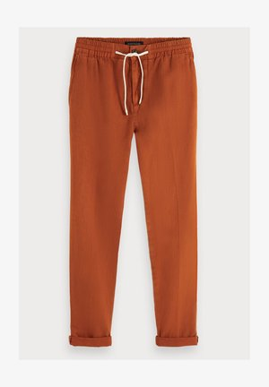 Trousers - tabacco