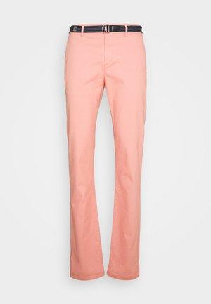 Chino kalhoty - pink smoke