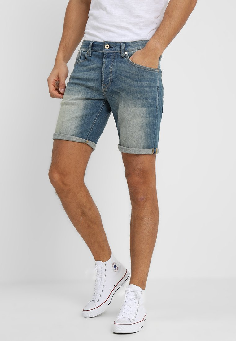 Scotch & Soda - RALSTON SHORT - Jeans Shorts - greener than green