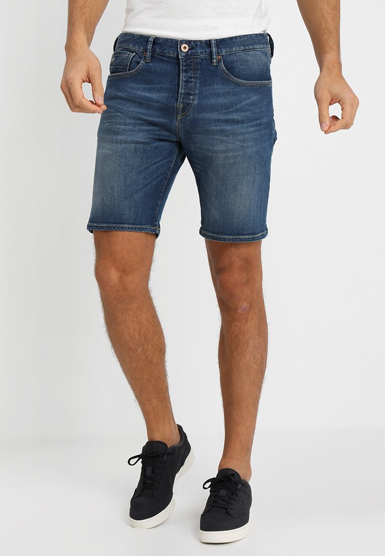 Scotch & Soda - RALSTON SHORT - Jeans Shorts - lucky blauw dark