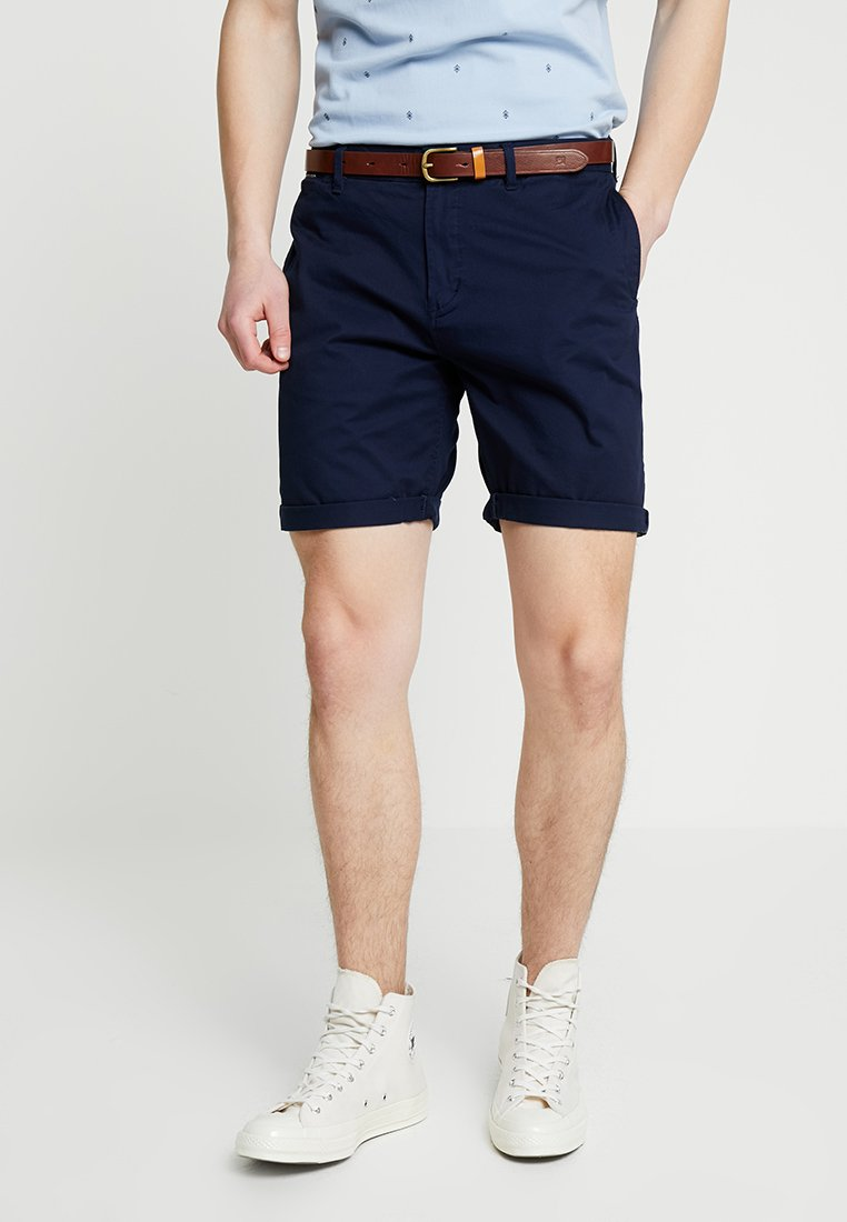 Scotch & Soda - WITH BELT - Shorts - ink