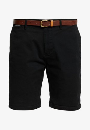 WITH BELT - Shortsit - black