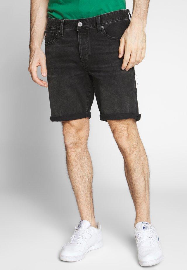 Szorty jeansowe - black out