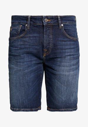 Szorty jeansowe - icon blau