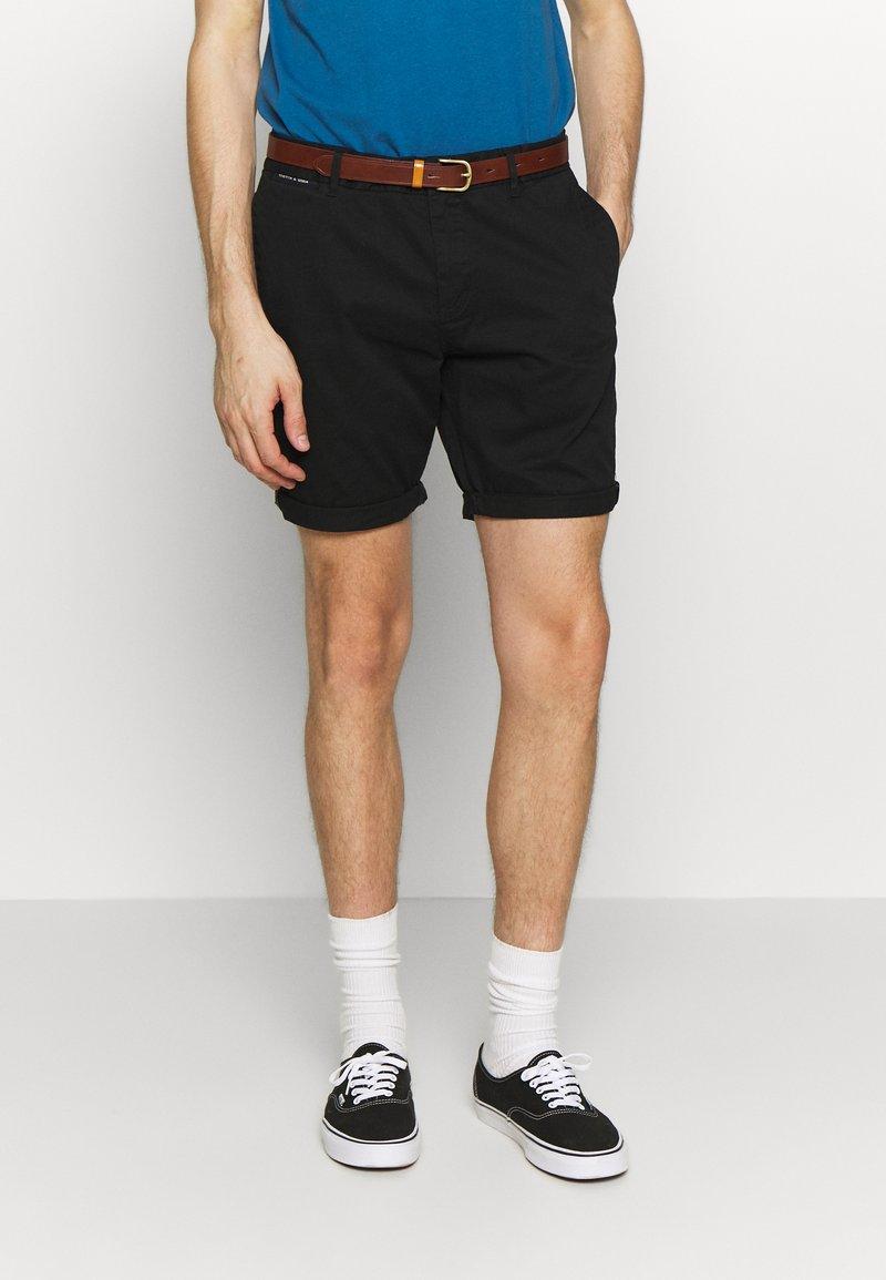 Scotch & Soda - CLASSIC - Shorts - black