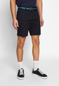 Scotch & Soda - STRUCTURED WITH MINI ALL OVER  - Shorts - combo - 0