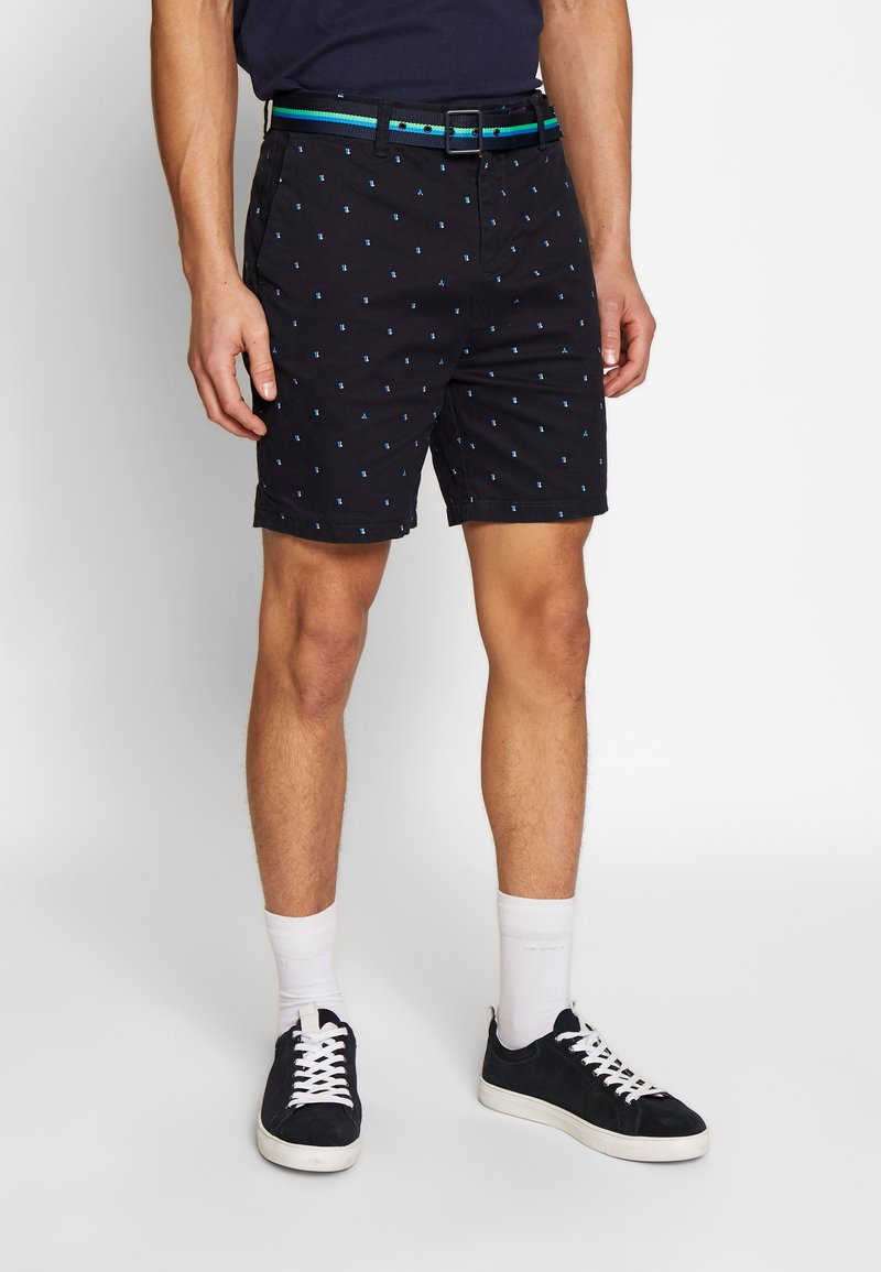 Scotch & Soda - STRUCTURED WITH MINI ALL OVER  - Shorts - combo