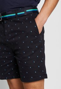 Scotch & Soda - STRUCTURED WITH MINI ALL OVER  - Shorts - combo - 3