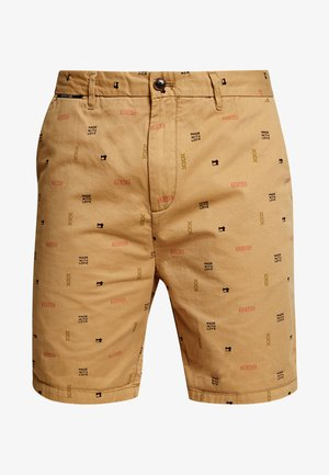 ALL OVER PRINTED IN PIMA - Short - beige