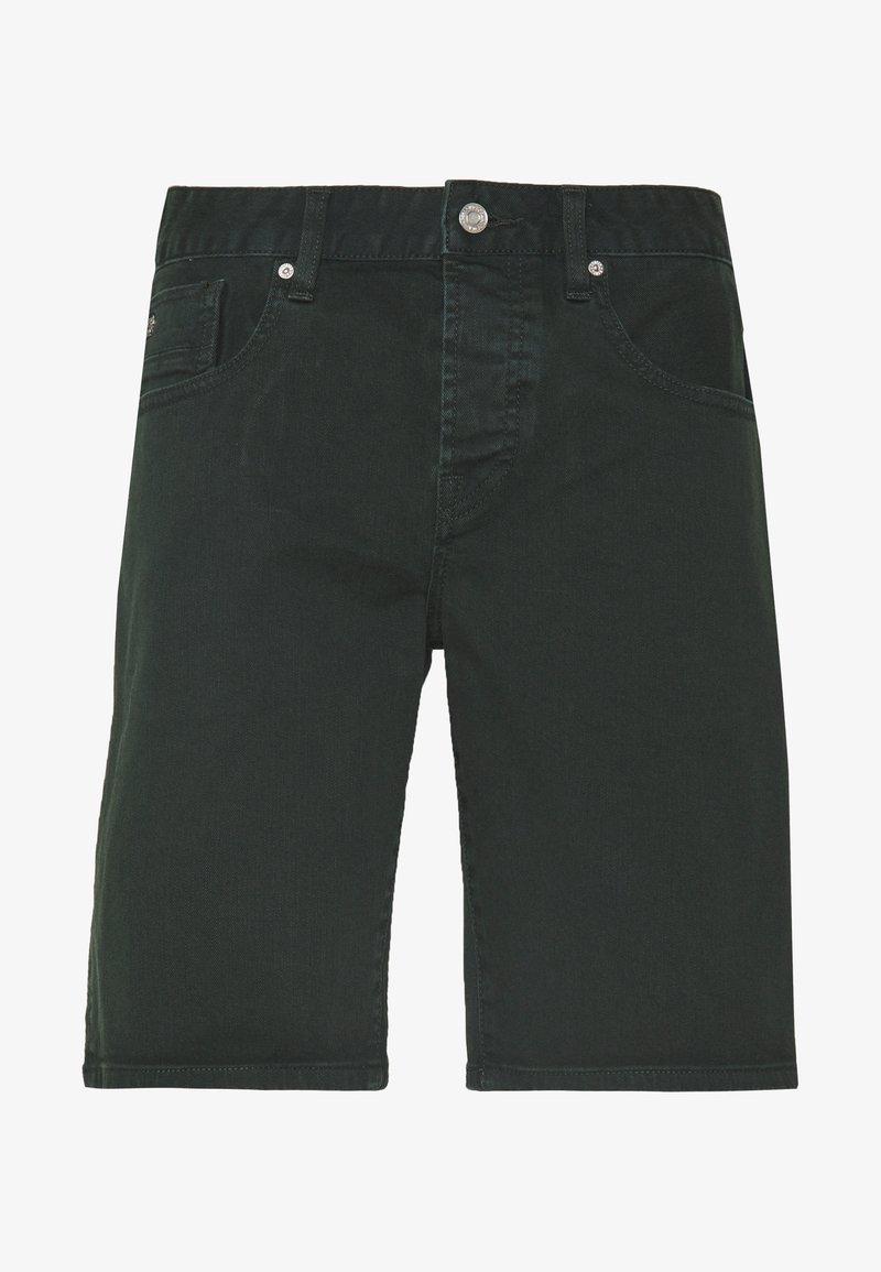 Scotch & Soda - GARMENT DYED COLOURS - Shorts di jeans - lagoon green