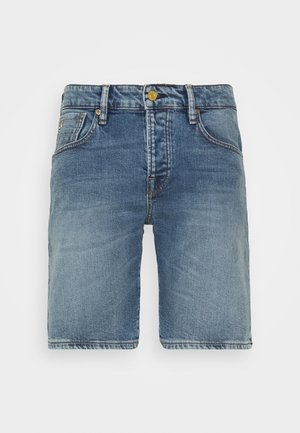SHORT - Shorts di jeans - midday blauw