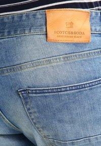 Scotch & Soda - Slim fit jeans - blue denim - 4