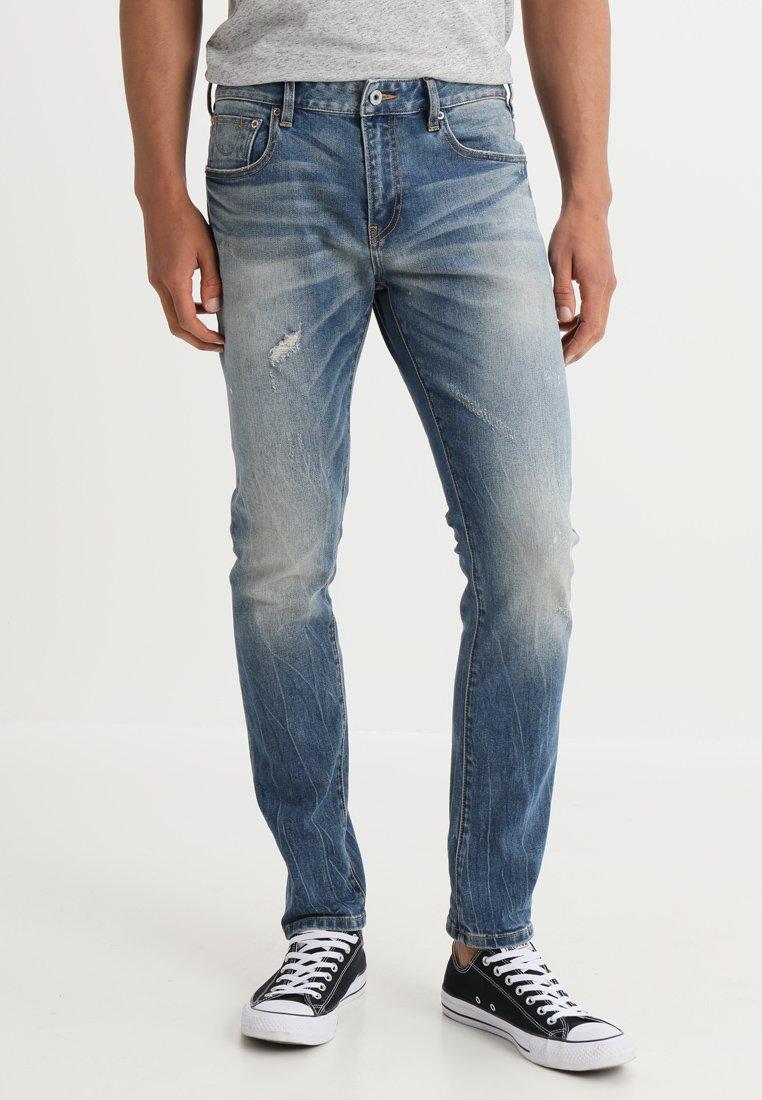 Scotch & Soda - SKIM - RIGHT HERE RIGHT NOW - Slim fit jeans - blue denim