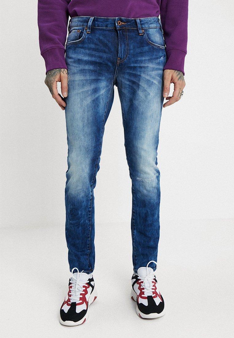 Scotch & Soda - SKIM - Slim fit jeans - greetings from blauw repair