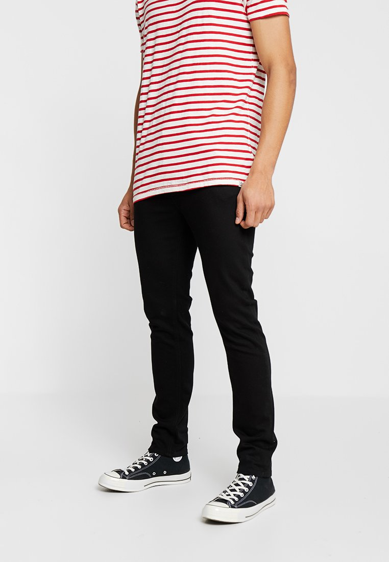 Scotch & Soda - SKIM - Vaqueros slim fit - stay black