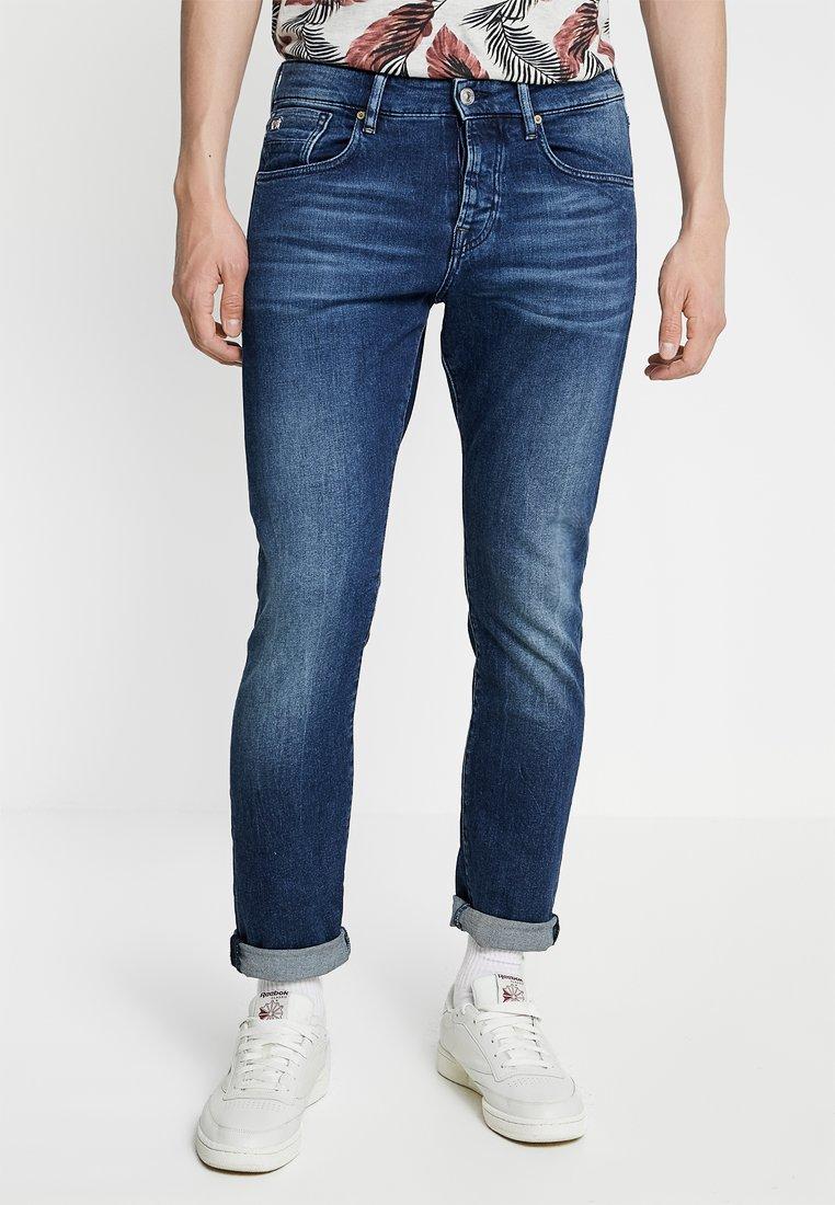 Scotch & Soda - GET KNOTTED - Jeans Slim Fit - dark-blue denim