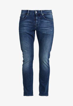 GET KNOTTED - Slim fit jeans - dark-blue denim