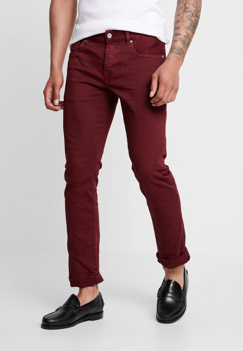 Scotch & Soda - Slim fit jeans - red
