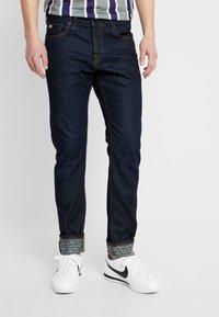 Scotch & Soda - FINAL TOUCHDOWN - Slim fit jeans - dark blue denim - 0