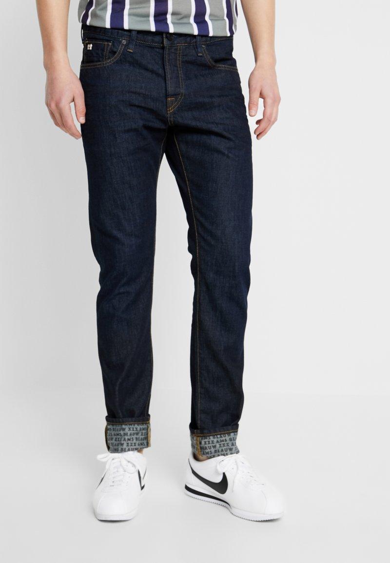 Scotch & Soda - FINAL TOUCHDOWN - Slim fit jeans - dark blue denim