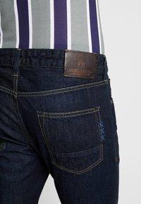 Scotch & Soda - FINAL TOUCHDOWN - Slim fit jeans - dark blue denim - 4