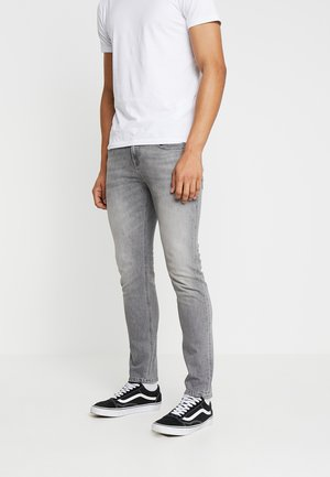 TYE FOUND ON THE BEACH - Jeans Tapered Fit - grey denim