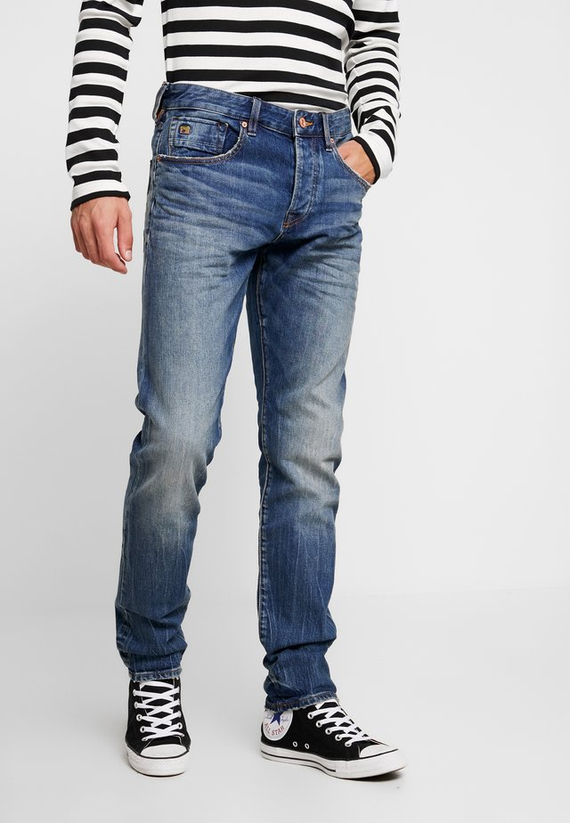 HANDCRAFT - Slim fit jeans - blue denim