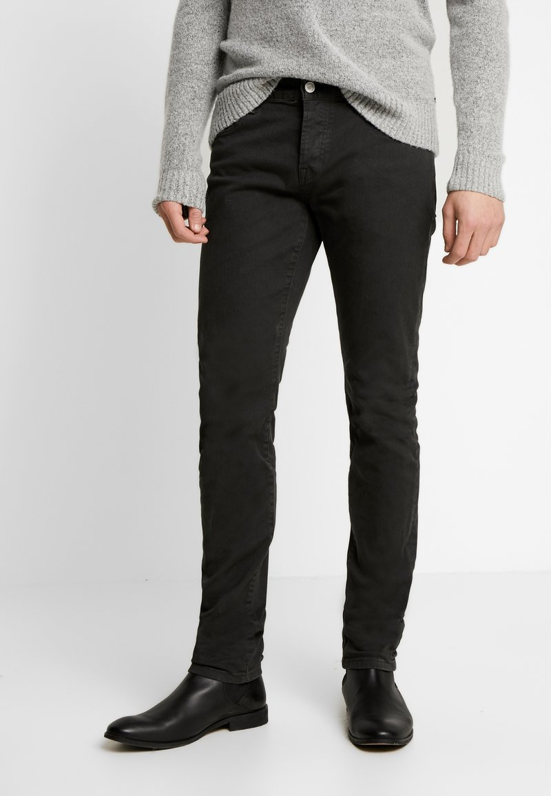 Scotch & Soda - CLEAN GARMENT DYED COLORS - Jeans slim fit - charcoal