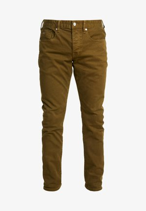 CLEAN GARMENT DYED COLORS - Jeans slim fit - military green