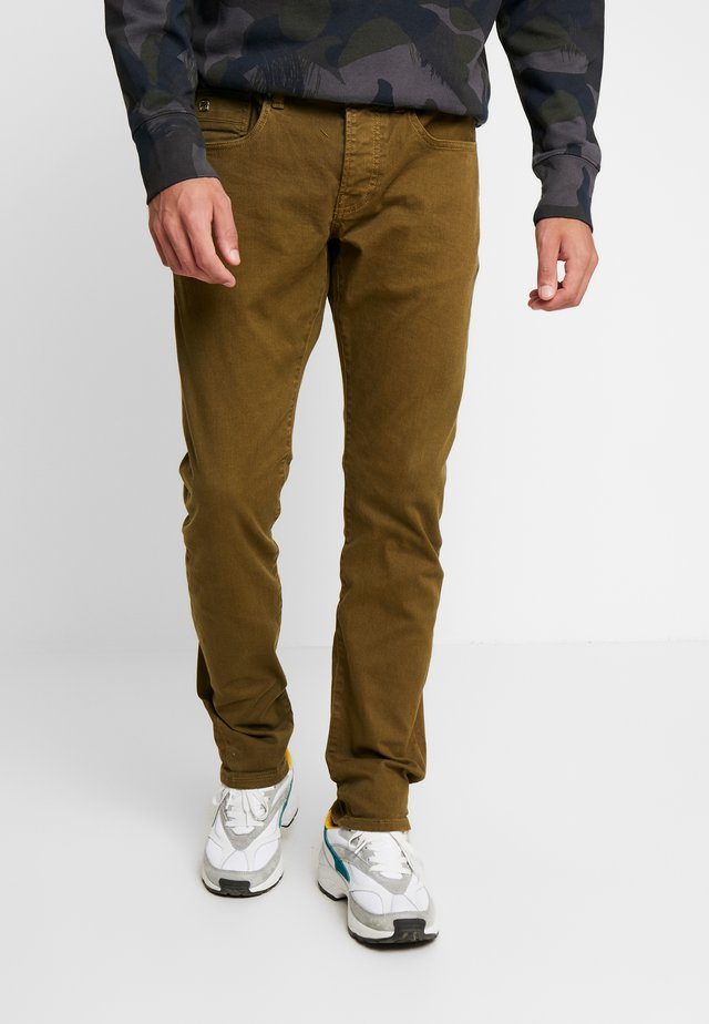 Slim fit -farkut - military green
