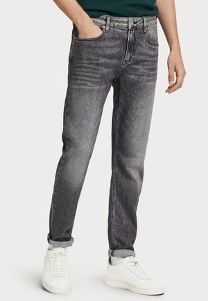 FOUND ON THE STREET - Slim fit jeans - grey