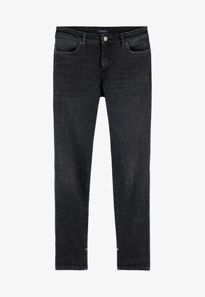 Slim fit jeans - black