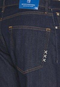Scotch & Soda - DEAN BLANK PAGE - Jeans baggy - dark blue denim - 2