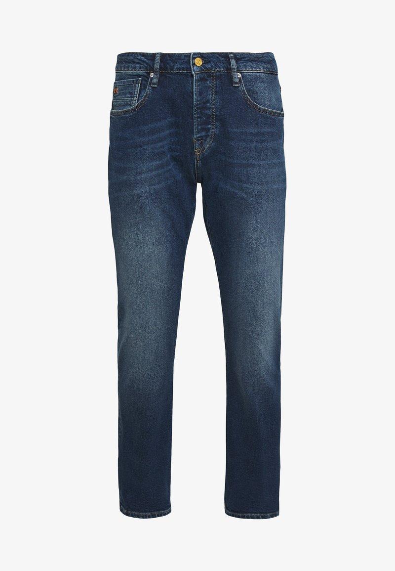 Scotch & Soda - VERNON  SUNSET - Jeans a sigaretta - dark blue denim