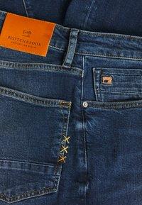 Scotch & Soda - VERNON  SUNSET - Jeans a sigaretta - dark blue denim - 2