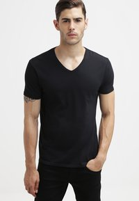 Scotch & Soda - T-shirts basic - black - 0