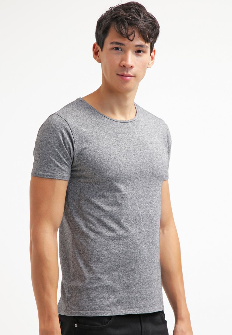 Scotch & Soda - T-Shirt basic - charcoal melange