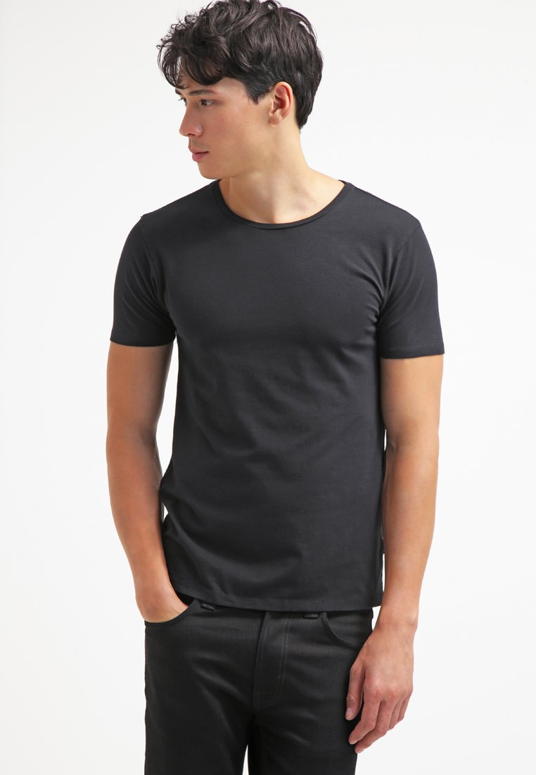 Scotch & Soda - Basic T-shirt - black