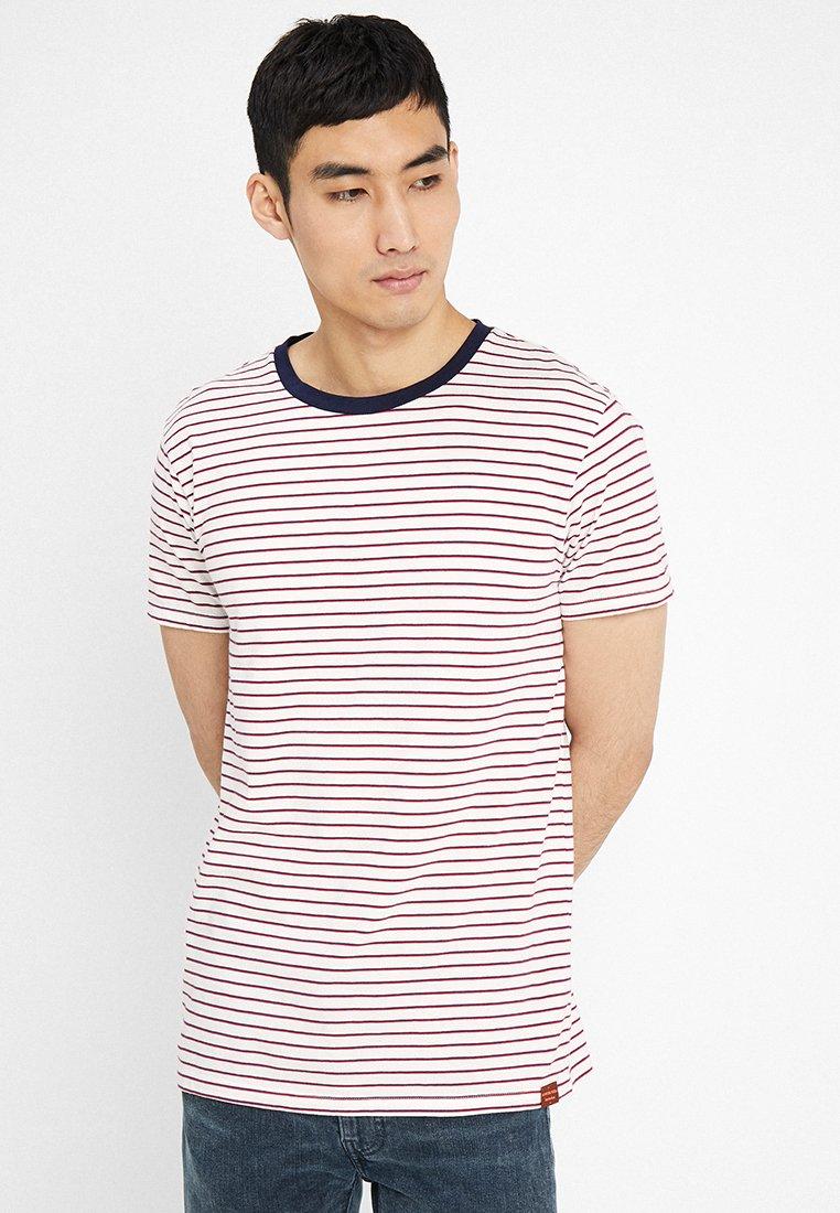 Scotch & Soda - CLASSIC CREWNECK TEE - T-Shirt print - offwhite
