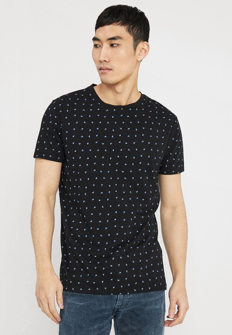 Scotch & Soda - CLASSIC CREWNECK TEE - T-shirt imprimé - combo