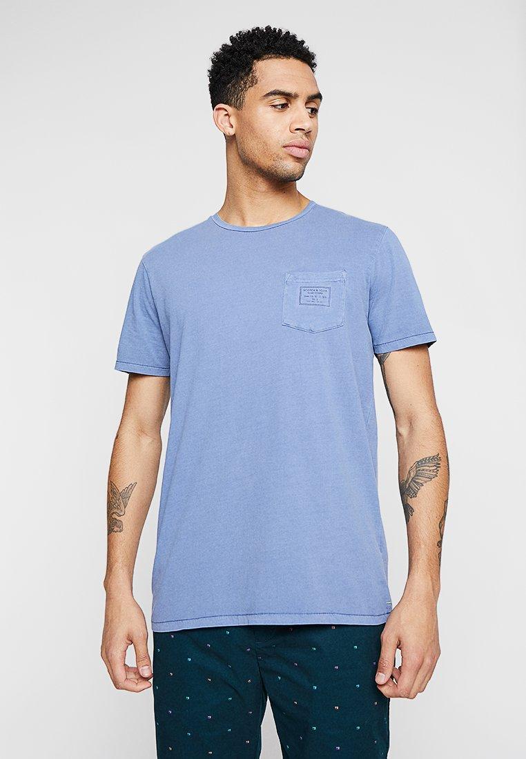 Scotch & Soda - T-Shirt print - denim blue