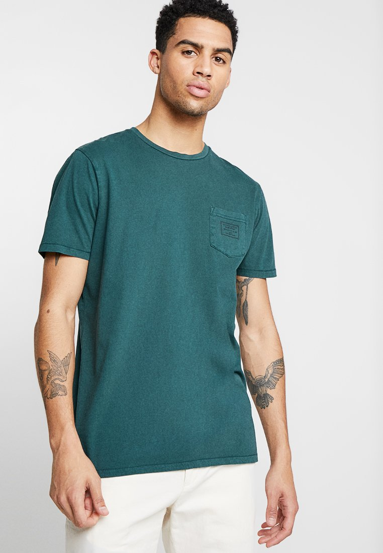 Scotch & Soda - Print T-shirt - amalfi green