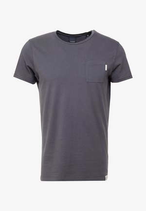 POCKET TEE - T-shirt - bas - anthra