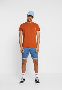 Scotch & Soda - POCKET TEE - T-paita - burned orange - 1