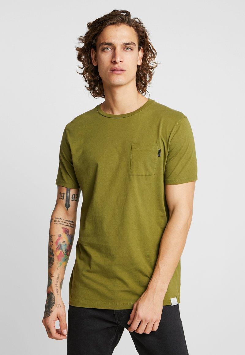 Scotch & Soda - POCKET TEE - T-shirt basic - military green