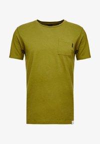 Scotch & Soda - POCKET TEE - T-shirt basic - military green - 4