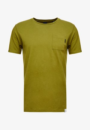 POCKET TEE - Jednoduché triko - military green